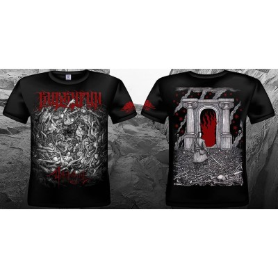 BURSHTYN - Чортория / Chthonichasm  T-shirt (black)