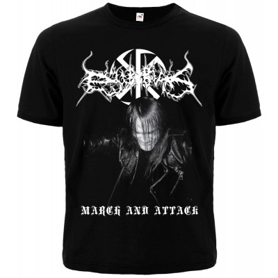 DUB BUK - March and Attack T-shirt