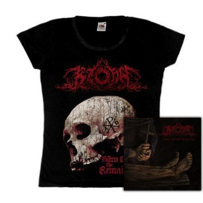 KZOHH - Trilogy: Burn Out The Remains  (Girly TS +CD) Bundle