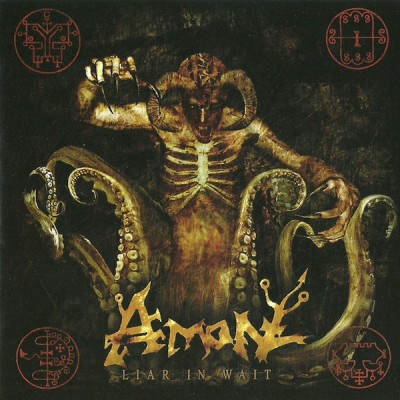 AMON  ‎– Liar In Wait Digipak CD