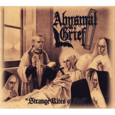 ABYSMAL GRIEF - Strange Rites Of Evil  Digipak CD