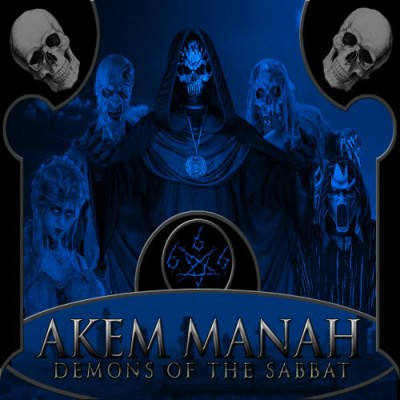 AKEM MANAH ‎– Demons Of The Sabbat Digipak CD