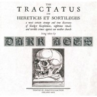 DARK AGES - The Tractatus De Hereticis Et Sortilegiis CD