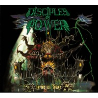 DISCIPLES OF POWER - Invincible Enemy Digipak CD