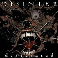 DISINTER - Desecrated CD