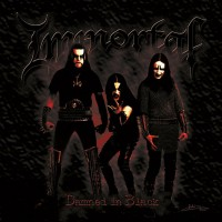 IMMORTAL - Damned In Black Digipak CD