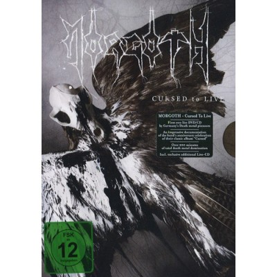 MORGOTH - Cursed To Live DCD+DVD