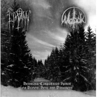 MOROK / LIKVANN - Hedmark-Carpathian Spirit of Blood, Soil and Darkness  CD