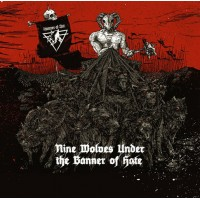 "V/A - ""Nine Wolves Under the Banner of  Hate""  Digipack CD"