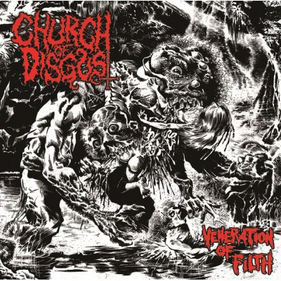 CHURCH OF DISGUST - Veneration Of Filth CD