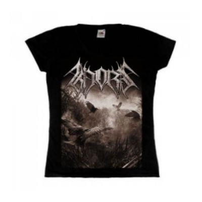 KHORS - Night Falls Onto the Fronts of Ours Girly T-shirt