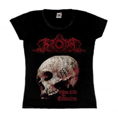 KZOHH - Burn Out The Remains Girly T-shirt