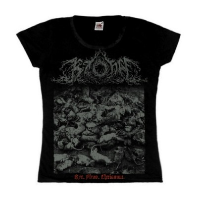 KZOHH - Rye. Fleas. Chrismon.  Girly T-shirt