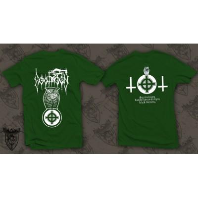 GOATMOON - Suomalaista (green)  T-shirt