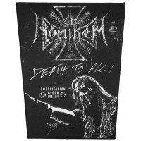 AD HOMINEM - Death To All  Back Patch